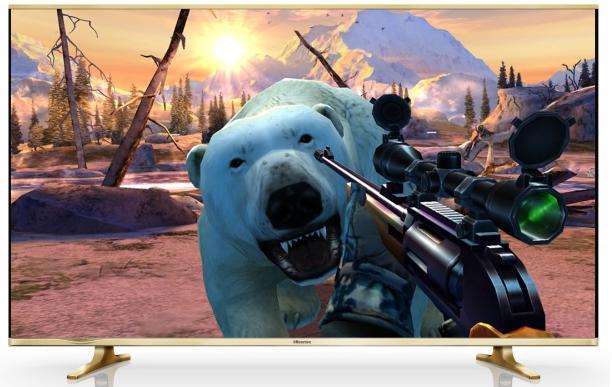 海信电视独家首发TV版FPS游戏《猎鹿人2014》