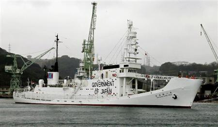 俄罗斯扣押一艘日本科研捕鲸船 指其侵犯俄领海