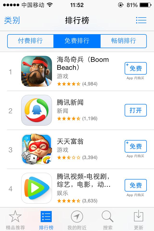 多盟助力《海岛奇兵》日覆盖3600万iOS用户