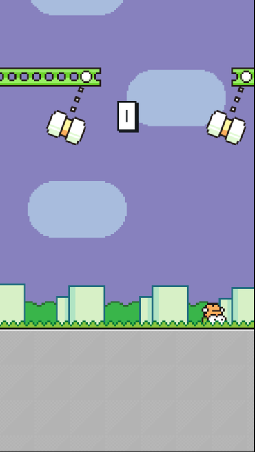 Flappy Bird作者发布Swing Copters更新