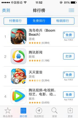 多盟助力《海岛奇兵》 4天7500万iOS独立用户