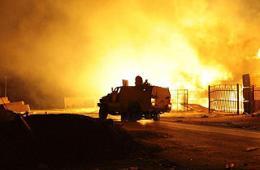 利比亚民兵遭不明飞机致命空袭