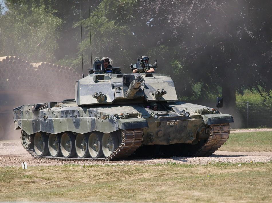 英国挑战者2坦克