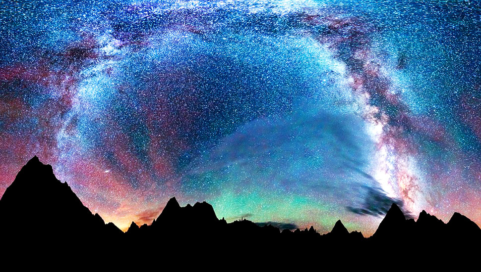 组图:摄影师捕捉美国郊外璀璨夜空