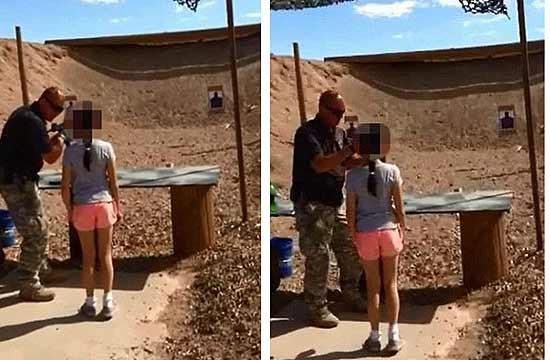 美9岁女孩练冲锋枪误杀教官