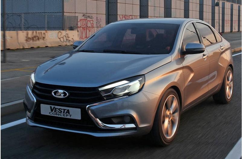 俄罗斯拉达品牌推三款新车 亮相莫斯科高清图片
