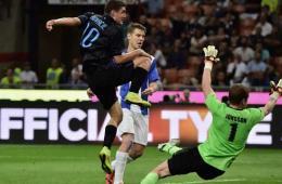 欧联杯-国米总分9-0进正赛 新星戴帽奥斯处子球