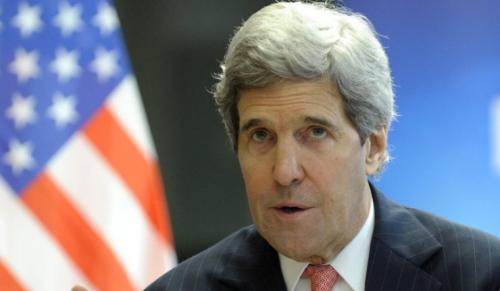 """克里撰文呼吁全球联合应对""""伊斯兰国""""极端组织"""