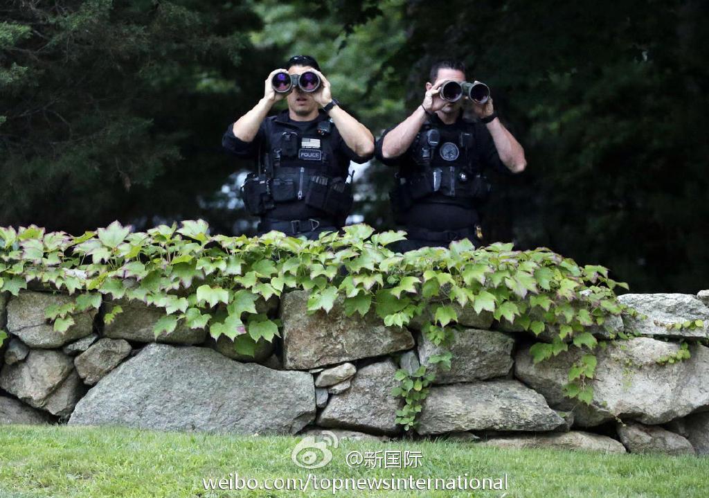 美国总统奥巴马出行遭遇威胁 特工处紧急大搜捕