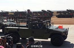 5国总参谋长检阅参演部队