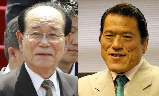 """朝鲜高规格接待日本议员猪木 讨论""""绑架问题"""""""