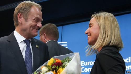 欧盟现新面孔 图斯克任欧洲理事会主席