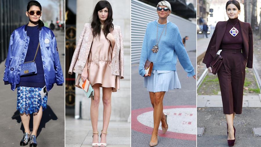 跟着明星学穿衣:时尚达人预热四大时装周
