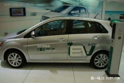 北京电动汽车充电桩建设提速 双轮驱动效应渐显-新能源高清图片