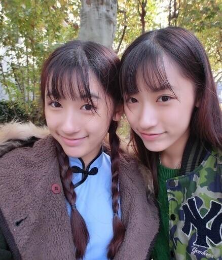 复旦双胞胎姐妹走红网络 网友:上帝不公平
