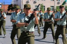 瞧瞧北京大学2014年新生军训