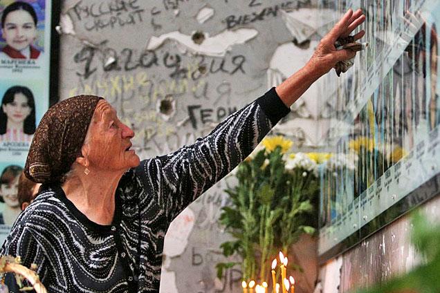 别斯兰人质事件10周年 幸存者悼念逝者
