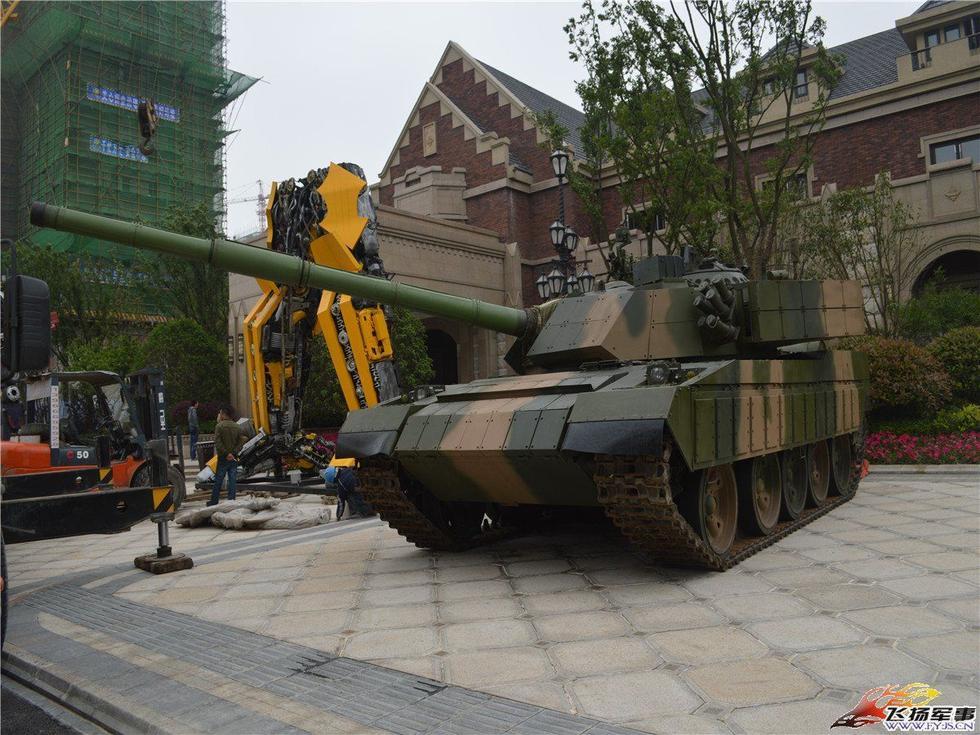 坦克车图片大全大图_魔改后的59坦克颇有96A式风范_军事_环球网