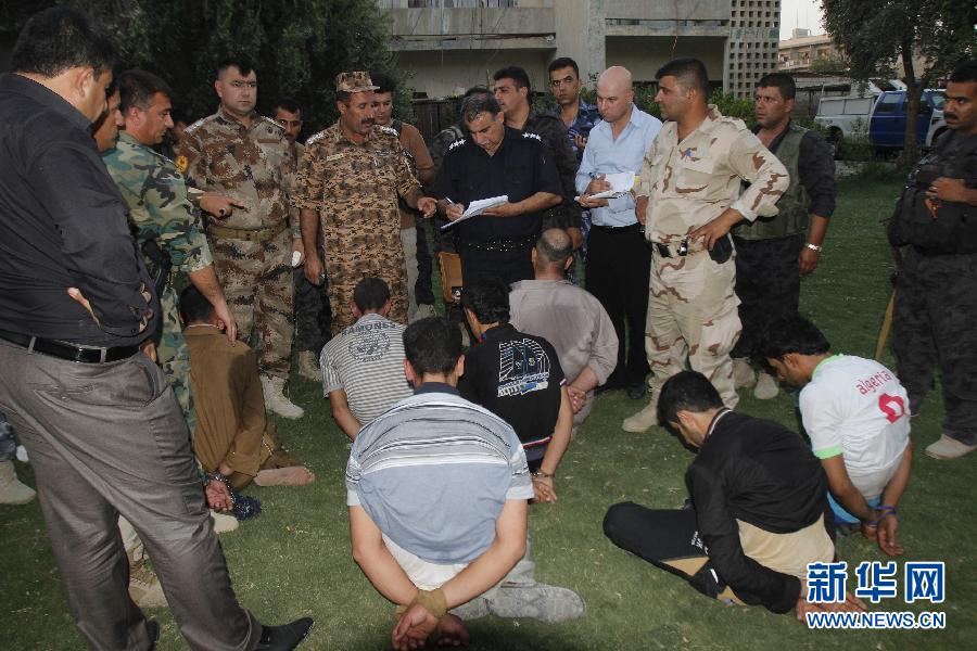 伊拉克库尔德武装人员逮捕多名极端分子