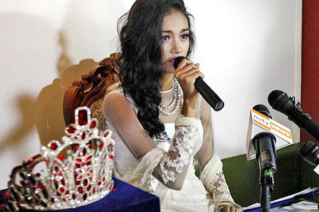 缅甸佳丽选美夺冠被罢免拒还60万元皇冠