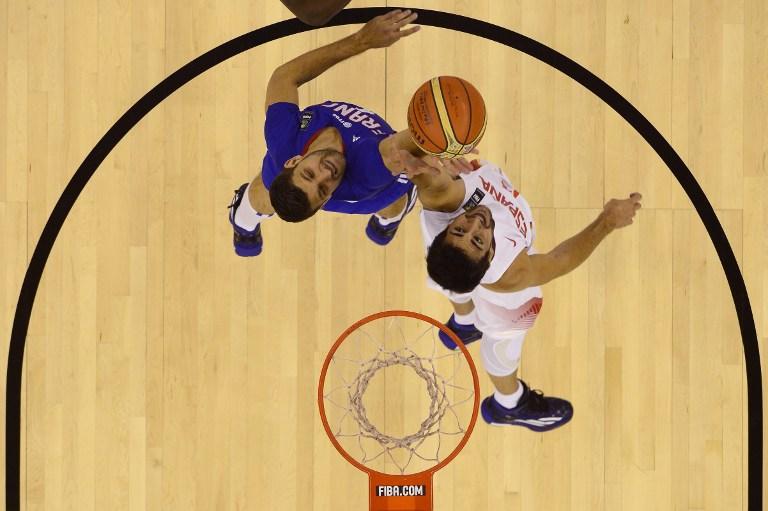男篮世界杯 西班牙24分屠法国获4连胜