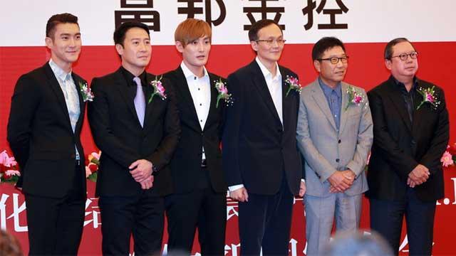 寰亚携手韩国SM打造娱乐帝国 安七炫黎明助阵