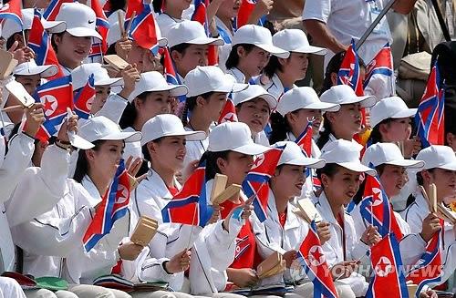 韩称朝美女拉拉队有政治目的 朝鲜称尊严受辱