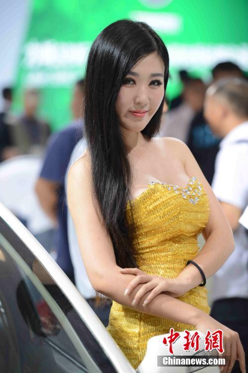 2014年济南新能源汽车展车模