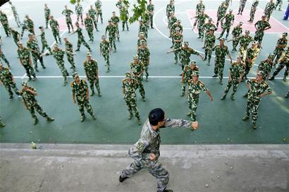 """德媒:中国用军训严厉锤炼被宠坏的""""小皇帝"""" - 坚必成 - 坚必成的博客"""