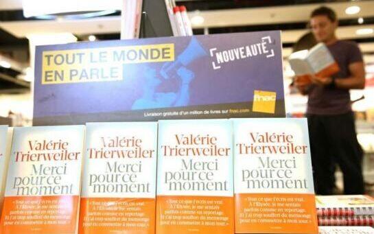 法总统前女友新书热卖 4天销量14.5万册破纪录