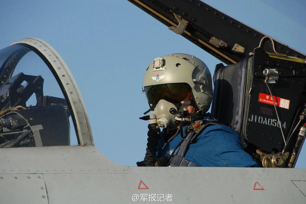 中国空军王牌飞行员选拔开始