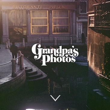 外公的相册Grandpa's Photo