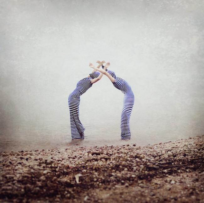 人像摄影:芭蕾心和自然之声
