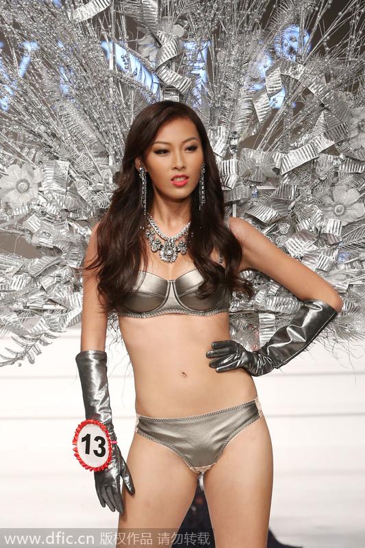 环球小姐中国区总决赛 19岁河南选手许乃蜻夺冠