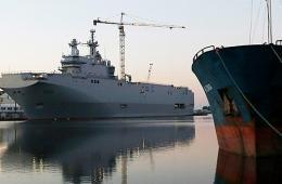 200余俄军士兵搭乘西北风级舰从法国出发海试