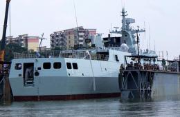 反潜版056舰刷好舷号准备服役