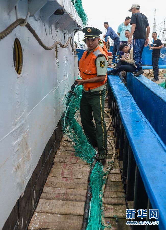 东海开渔 千帆出港