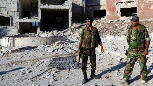 叙利亚政府军夺回哈马省阿尔法亚镇