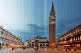 城市风光:光的时间线