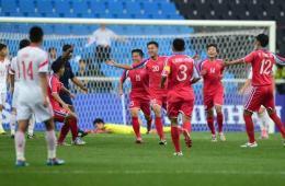 亚运-国奥惨遭围攻0-3朝鲜