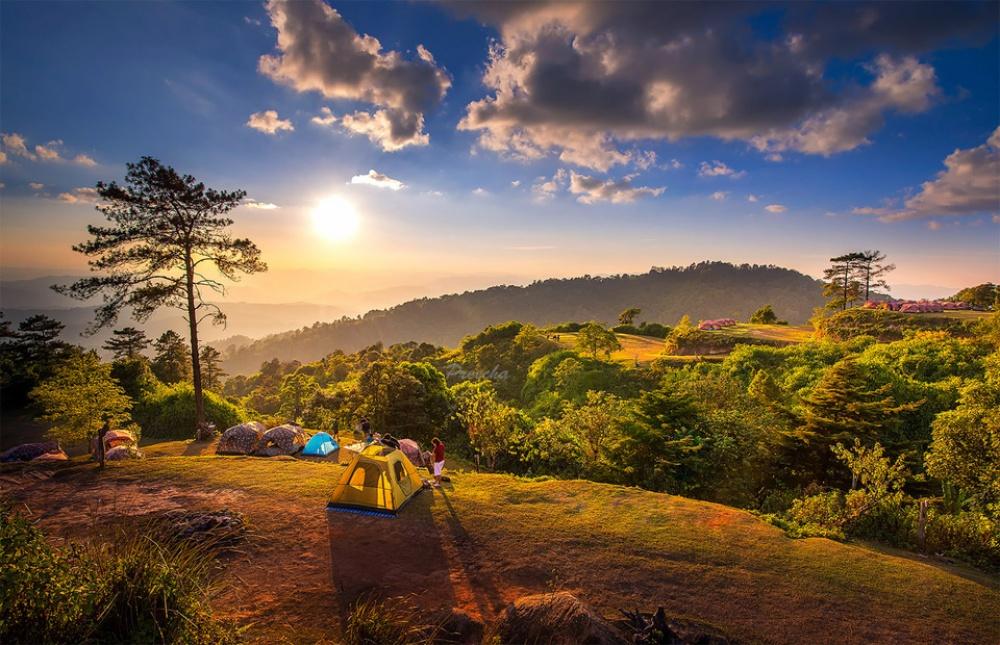 风景摄影:帐篷浪漫