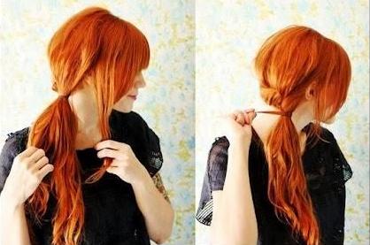 手把手教你扎头发:10款马尾打造秋日美人