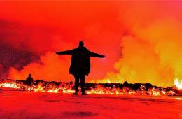 环球图片一周精选 摄影师近距离记录冰岛火山爆发