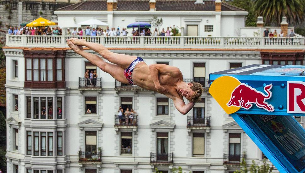 红牛悬崖跳水世界系列赛西班牙站盛况