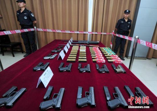 深圳多名大学生贪高回报走私武器弹药入境被捕