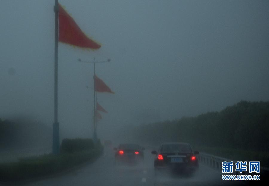 """台风""""凤凰""""在浙江象山登陆 23日将进入上海"""