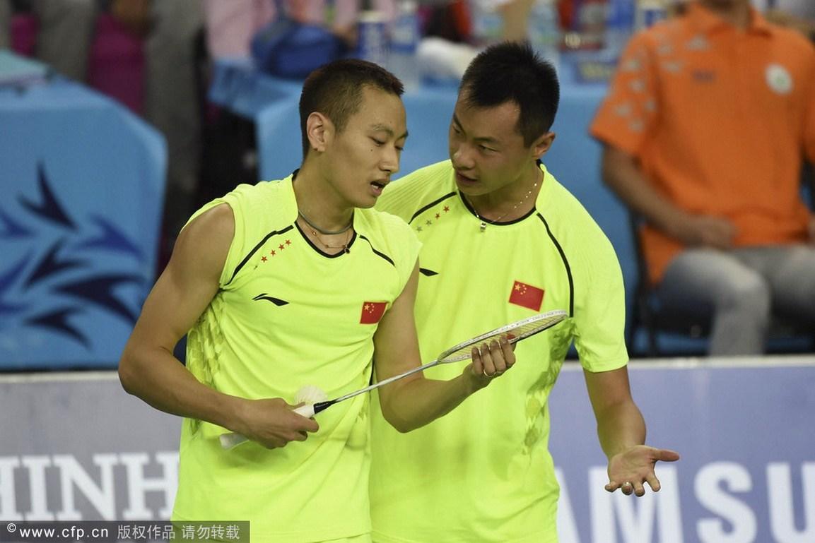 羽毛球男团弄决赛:中国2-3韩国放丢金