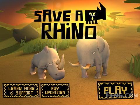 人类们请停止捕杀:《保护犀牛》