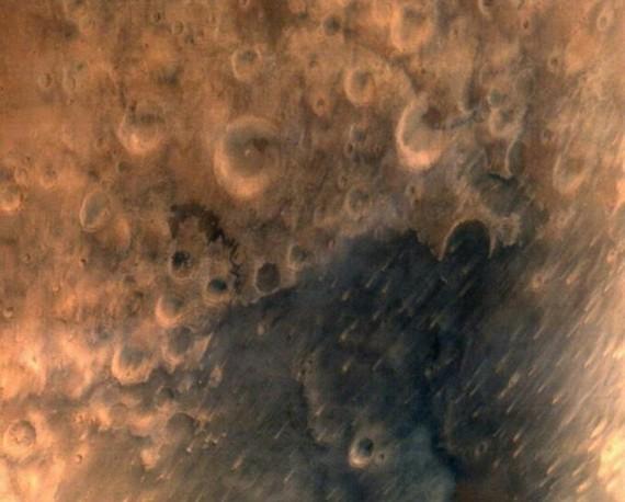 印度火星轨道探测器传回首张火星表面图片(图)