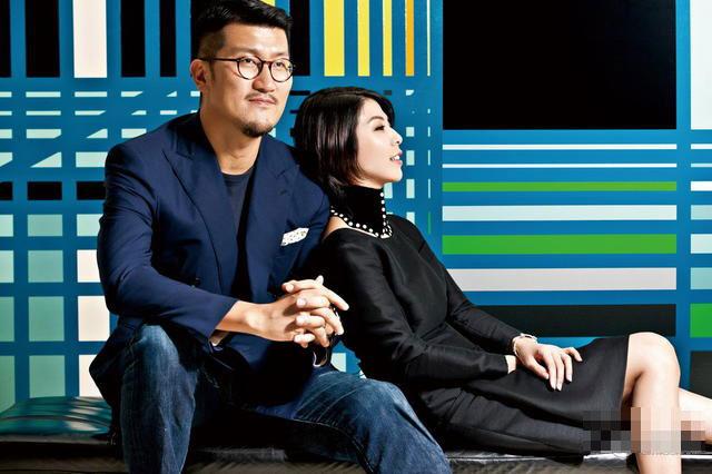 许茹芸与韩籍老公婚后首登杂志封面